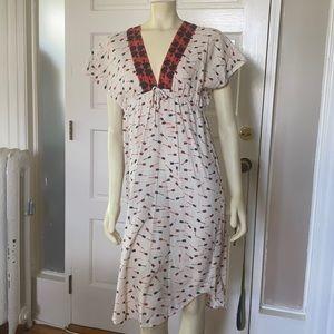 Built by Wendy cotton summer dress arrow print